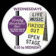 yoho's Yinzide Out Open Stage WEDNESDAYS