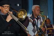 Nelson Harrison Old School Quartet at Backstage Bar for JazzLive opener