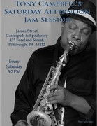 James st. Presents Tony Campbell Saturday Afternoon Jazz Session