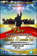 Live Recording Session - Rev. Deryck Tines Mitchell Gospel Group