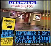 Saturday Night Blues with Yinzide Out (every 1st Sat)