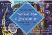471 MUSICIANS' CLUB - A Gem on the Hill
