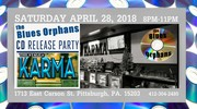 BUES ORPHANS CD RELEASE PARTY - MORE FAKE BLUES