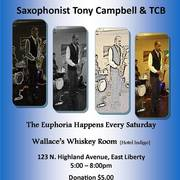 Wallace's Whiskey Room Saturday Jam Session w/ Tony Campbell