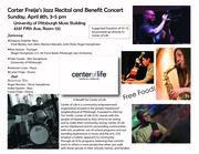 Carter Freije's Jazz Recital and Benefit Concert