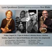 Lynn Speakman Speaks With: Ron Blake (Live Recording Session)