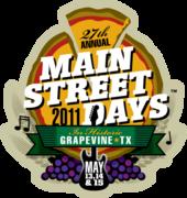 27th Annual Main Street Days   Grapevine, TX