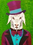 Ein sanfter Gentleman, wie ein Schaf