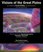 """""""Visions of the Great Plains"""", Art exhibit by Scott Kirby"""