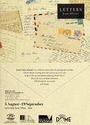 Letters from Abroad - Temporary exhibition MtSV