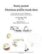 jewelry trunk show