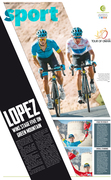 Lopez wins stage five (Tour of Oman)