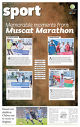 Memorable moments from Muscat Marathon