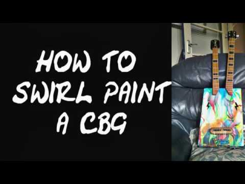 how to swirl paint a cbg