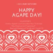 Happy Agape Day!