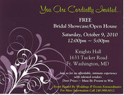 Bridal Showcase/Open House