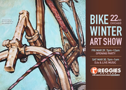 22nd Annual Bike Winter Art Show