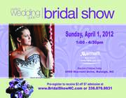 April 1, 2012 Bridal Show @Marriott Crabtree Valley