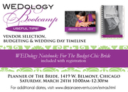 WEDology Bootcamp: For Brides & Grooms