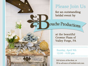 The 10th Annual King of Prussia Bridal Show and Expo by Bouche Productions