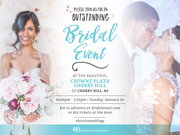 Bouche Productions Presents The Big South Jersey Bridal and Wedding Expo