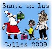Santa en las Calles 2008