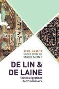 Visite guidée de l'exposition De lin et de laine. Textiles égyptiens du 1er millénaire