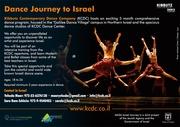 Programa de Entrenamiento intensivo apra bailarines Contemporaneos En Israel