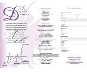 FICHA DE INSCRIPCION-IX ENCUENTRO PATAGONICO DE DANZA