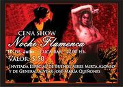Seminario intensivo de Flamenco y Cena Show Flamenca