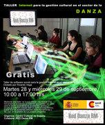Inscripción Taller  Herramienta Internet para Gestión  de proyectos en sector Danza