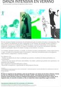 Danza Intensiva en VERANO! técnicas corporales y herramientas de trabajo para la creación escénica.