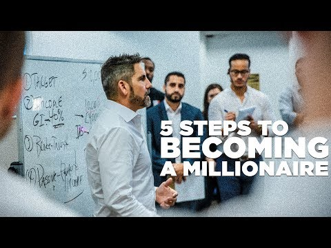 5 Steps to Becoming a Millionaire LIVE