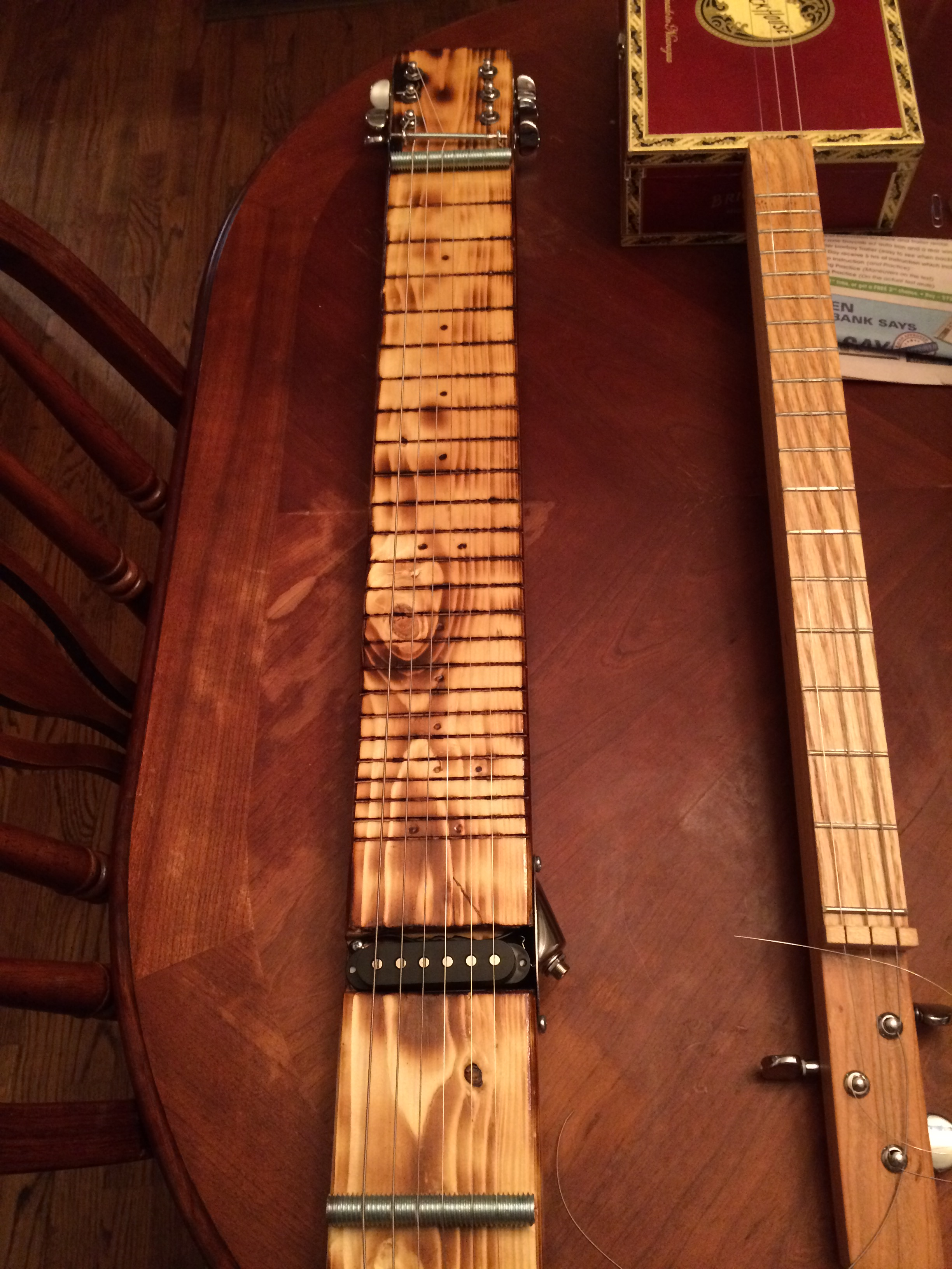 Contest The 2x4 Challenge May 2017 Cigar Box Nation Electric Guitar Wiring Diagrams Free Http Wwwcigarboxnationcom Xn I Hope Story Made You Smile Dont Think My Lap Steel Is As Interesting Some Of Yours Postedbut Still Wanted To Put Mine Up Here