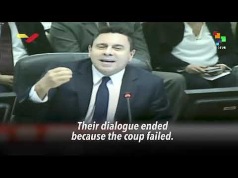 """Venezuela's Moncada At The Oas- """"The Coup Failed"""" - Fuck You trump & Your Deep State Handlers!"""