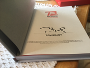 Tom Brady Limited Edition signed book