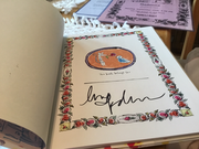 """My Madonna signed """"The English Roses"""" book"""