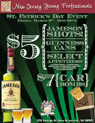 St. Patrick's Day Party in New Brunswick