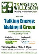 Transition Willesden - Talking Energy: Making it Green
