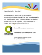 Saturday Coffee Morning Community Meeting