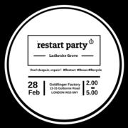 Restart Party @ Goldfinger Factory