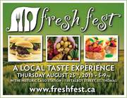 FreshFest - Elgin County - August 25th 2011