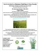 Biomass Field Day in Grey County