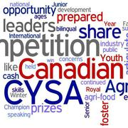 The 2012 Canadian Young Speakers for Agriculture