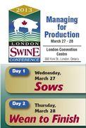 London Swine Conference 2013