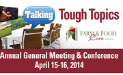 Talking Tough Topics - Farm & Food Care Annual General Meeting & Conference