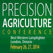Precision Agriculture Conference: Visioning the Future - London. Feb 26 & 27, 2014