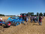LEMKEN Field Day introduces latest innovation in One-Pass high-speed Tillage at Strategic Tillage Demonstration near Mitchell for Ontario Growers on August 12, 2016.