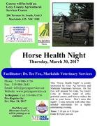 Horse Health Night