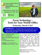 Farm Technology - Tools for Your Mobile Office